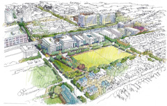 Temple Station Area Redevelopment Plan (2004 Bronze Award Winner)